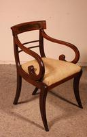 Regency Rosewood Chair Early 19th Century c.1811 (4 of 10)