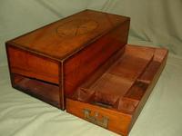 Rare Georgian Inlaid Writing Box. c1790 (3 of 13)
