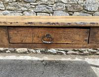 Large French Sycamore & Elm Farmhouse Table (4 of 21)