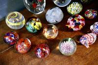 Collection of 18 Vintage Art Glass Millefiori Weights (4 of 6)
