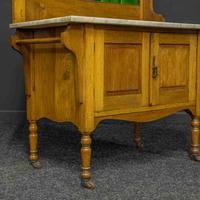 Victorian Oak Washstand (2 of 11)