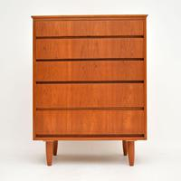1960's Teak Vintage Chest of Drawers (2 of 10)