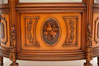 Antique Italian Walnut Display Cabinet (7 of 11)