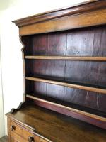Antique 19th Century Oak Dresser (10 of 16)