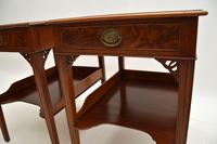 Pair of Antique Mahogany Side /  Bedside Tables (8 of 12)