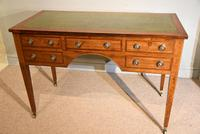 Regency Mahogany Writing Table Desk (5 of 8)