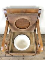 19th Century Oak Armchair Commode (6 of 10)