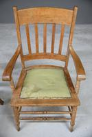 Pair Country Style Carver Chairs (8 of 12)