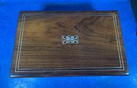 William IV Rosewood & Mother of Pearl Writing Slope (3 of 14)