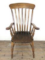Victorian Ash & Elm Windsor Armchair (3 of 14)