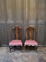 Pair of Queen Anne Period Child's Chairs (2 of 6)