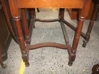 Large Mahogany Gate Leg Dining Table (3 of 3)