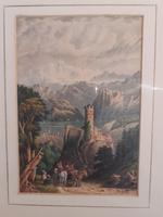 19th Century Watercolour, initialled H.G. (2 of 3)