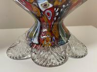 2 Beautiful Italian Murano Fratelli & Torso Millefiori Glass Vases (6 of 34)