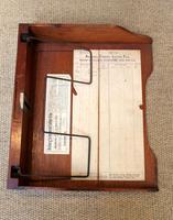 Unusual Mahogany Filing Cabinet (10 of 11)
