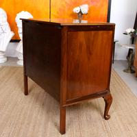 Walnut Chest of Drawers Queen Anne Style c.1920 (11 of 11)