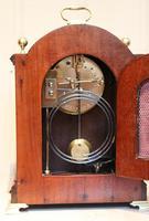 Mahogany and Inlay Bracket Clock (12 of 13)