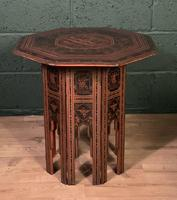 Decorative Burmese chai or tea table (5 of 8)