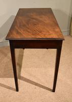 George III Mahogany Side / Dressing Table (7 of 9)
