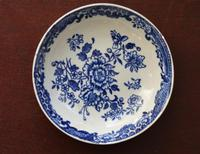 18th Century Liverpool Saucer - 'Three Stamens' pattern by J J or S Pennington (4 of 4)