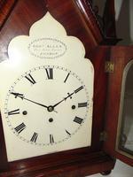 Regency Mahogany Gothic Bracket Clock (6 of 12)