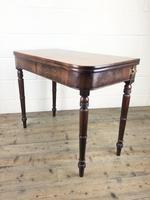 Antique 19th Century Mahogany Fold Over Side Table (12 of 14)
