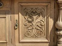 Wonderful Art Nouveau Bleached Oak Sideboard (3 of 26)