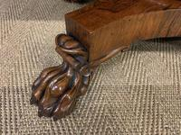 William IV Rosewood Library Centre Table (15 of 18)
