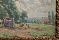 William Francis Burchell Exhibited Impressionist Oil Painting (3 of 12)