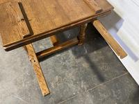 Oak Farmhouse Dining Table with Extensions (8 of 18)