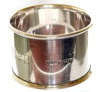 Suffragette Silver Napkin Ring - Birmingham 1917 (4 of 5)