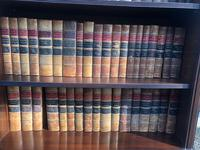 100 Antique Leather Bound Law Books (5 of 5)