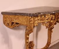 Giltwood Console From The 18th Century - Transition Period (louis XV-louis XVI) -france (5 of 13)