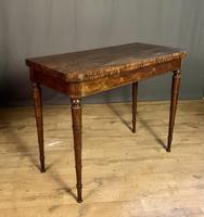 Superb French Rosewood Fold-over Top Card Table (10 of 14)