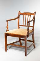Set of Eight George III Period Dining Chairs 'Six Side Chairs plus Two Armchairs' (7 of 9)