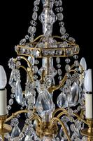 Early 20th Century Six Arm Chandelier (9 of 9)