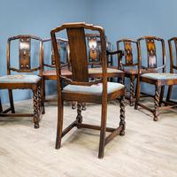 Set of 12 Carver Dining Chairs (12 of 12)