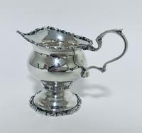 Antique Solid Sterling Silver Milk or Cream Jug Chester 1906 (6 of 11)