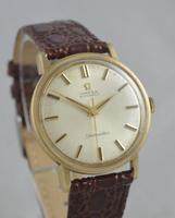 1965 Omega Seamaster 9K Gold Wristwatch (2 of 6)