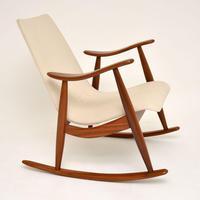 1960's Dutch Rocking Chair by Louis Van Teeffelen (7 of 10)