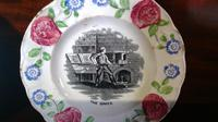 Pair of Antique Staffordshire Childs Nursery Learning Plates (4 of 5)