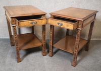 Pair of Burr Walnut End Tables Iain James Fine Furniture (4 of 9)