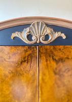 Vintage Burr Walnut Louis XV Style Drinks Cabinet (7 of 12)