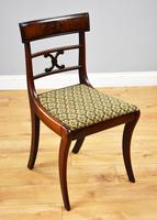 Set of 8 Antique Regency Style Mahogany Dining Chairs c.1900 (8 of 9)