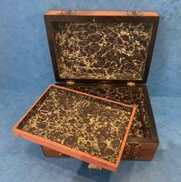 Victorian Walnut Inlaid Jewellery Box (10 of 12)