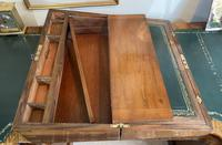 Victorian Brass-bound Walnut Writing Slope with Secret Drawers (12 of 39)