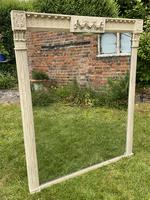 Large Painted Overmantel Mirror (2 of 6)