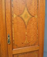 Stunning Victorian Satinwood & Marquetry Compactum Wardrobe (11 of 24)