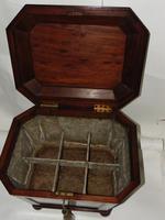 Regency Mahogany Sarcophagus Wine Cooler (7 of 10)