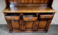Titchmarsh & Goodwin Oak Dresser & Rack (14 of 15)